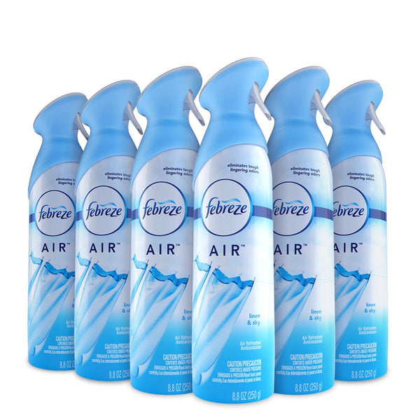 Febreze AIR Effects Air Freshener Linen & Sky, 8.8 oz (Pack of 6) Via Amazon ONLY $13.93 Shipped! (Reg $19.74)