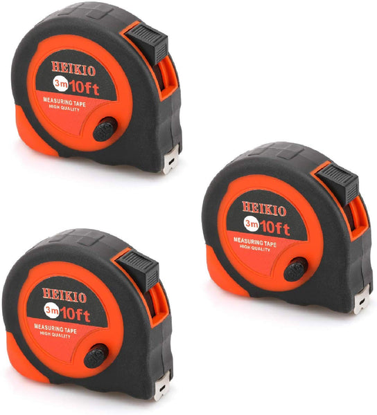 3-Set Tape Measure Via Amazon