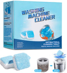 12 Pack Solid Washing Machine Cleaner Via Amazon