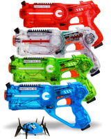 4 Laser Tag Blasters and 1 Target Robot Bug Via Amazon SALE $29.75 Shipped! (Reg $59.50)