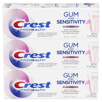 Crest Pro-Health Gum and Sensitivity, Sensitive Toothpaste, (Pack of 3) Via Amazon
