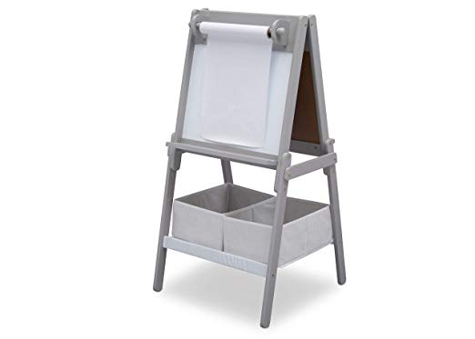 Delta Children MySize Double-Sided Storage Easel Via Amazon
