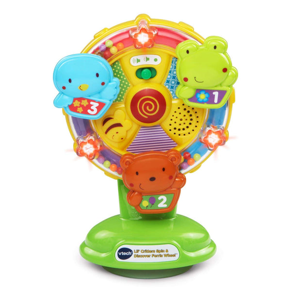 VTech Baby Lil' Critters Spin and Discover Sing Along Ferris Wheel Via Amazon