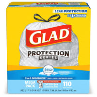 110 Count Glad Tall Kitchen Drawstring Trash Bags Via Amazon
