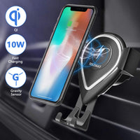 Wireless Car Charger Mount Via Amazon