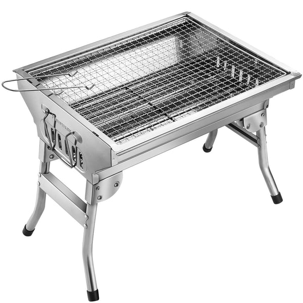 Stainless Steel BBQ Grill Via Amazon