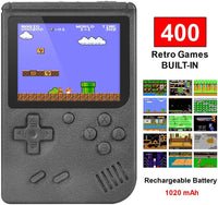 Handheld Game Console with 400 Classic Games Via Amazon