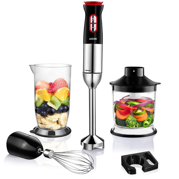 4-in-1 Immersion Stick Blender Via Amazon