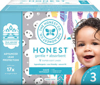 68 Count Size 3 The Honest Company Club Box Diapers Via Amazon SALE $12.34 Shipped! (Reg $24.69)