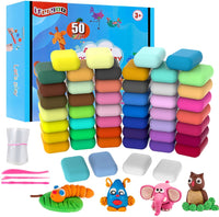 48 Colors DIY Molding Magic Clay Via Amazon