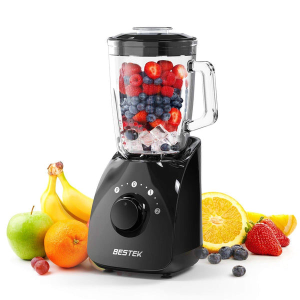 Smoothie Blenders with 1.5L BPA Free Glass Jar Via Amazon