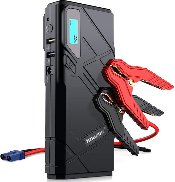 Portable Car Jump Starter Via Amazon