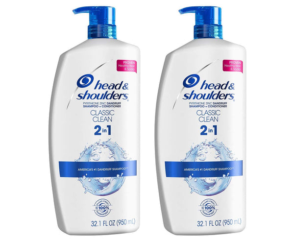 Head and Shoulders 2 in 1 Shampoo and Conditioner Via Amazon