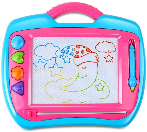 BeebeeRun Drawing Doodle Board, Magnetic Writing Board Via Amazon