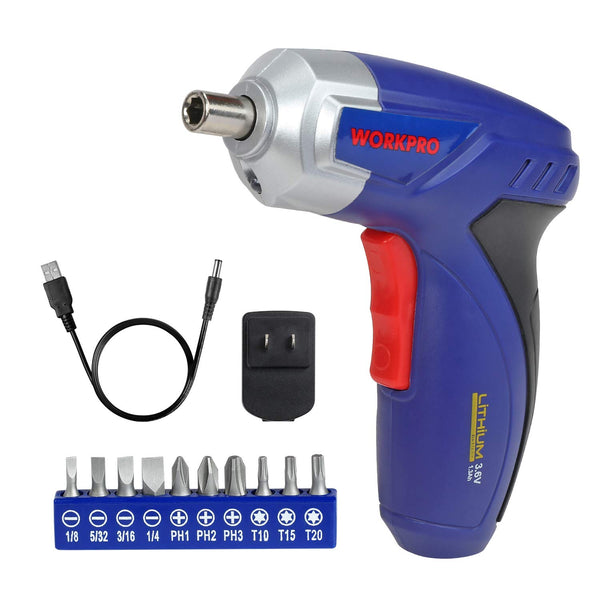 Rechargeable Cordless Screwdriver with Charger and Bit Set Via Amazon ONLY $10.07 Shipped! (Reg $18)