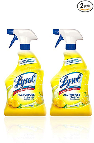 Pack of 2 Lysol All Purpose Cleaner, Lemon Breeze Via Amazon SALE $4.98 Shipped! (Reg $14.32)