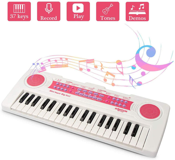 37 Keys Electronic Kids Piano Via Amazon