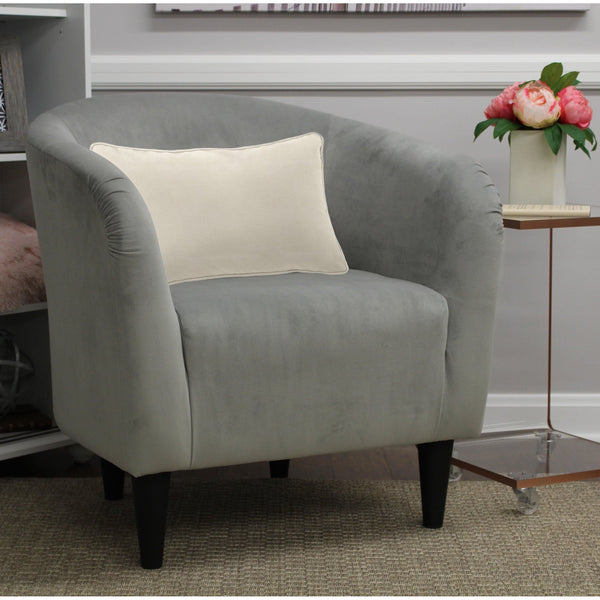 Mainstays Microfiber Tub Accent Chair  (6 Colors) Via Walmart