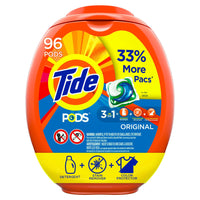 96-Count Tide Pods Laundry Detergent Liquid Pacs (various scents) Via Amazon ONLY$16.00 Shipped! (Reg $21.44)