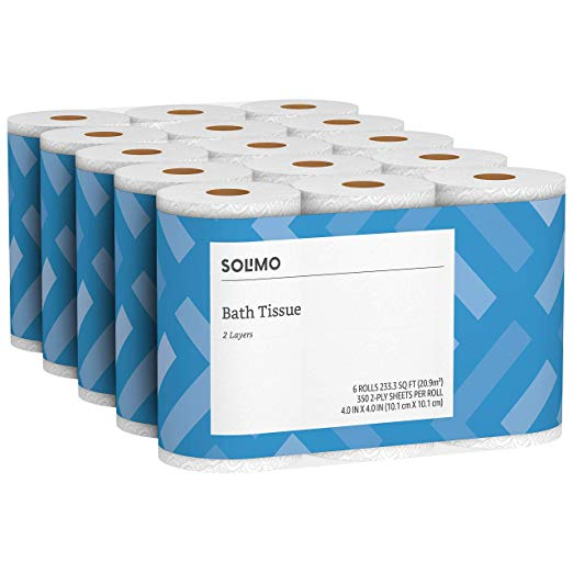 Save 25% On Amazon Brand Paper Towel, Toilet Paper