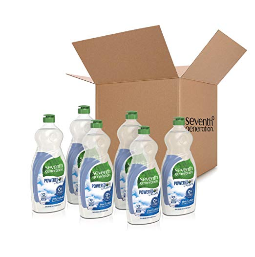6-Pack Seventh Generation 25oz. Free & Clear Dish Liquid Soap Via Amazon ONLY $10.79 Shipped! (Reg $19.62)