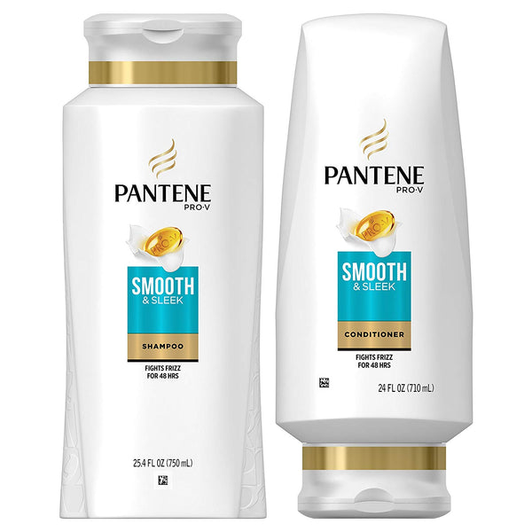 2 Pack Pantene, Shampoo and Sulfate Free Conditioner Kit Via Amazon
