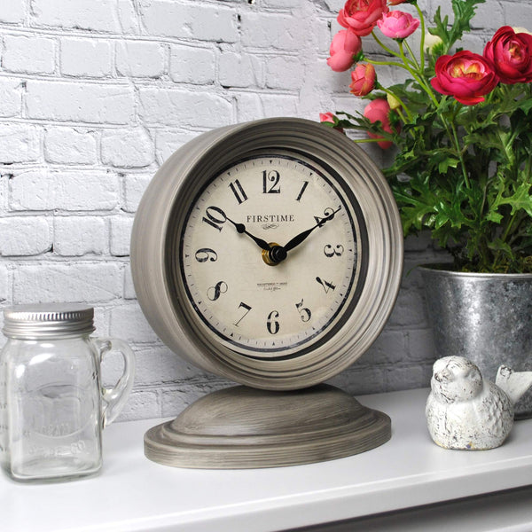 FirsTime & Co. Graham Tabletop Clock Via Amazon