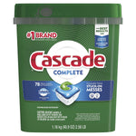 Cascade complete Actionpacs Dishwasher Detergent, Fresh Scent, 78Count Via Amazon