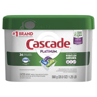 Cascade Platinum ActionPacs Dishwasher Detergent, Fresh Scent, 20 oz, 3 QTY Via Amazon