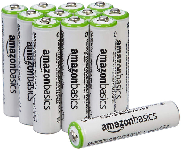 AmazonBasics AAA Rechargeable Batteries (12-Pack) SALE $11.99 Shipped! (Reg $20)
