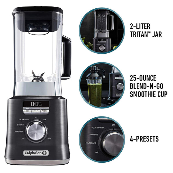 Auto-Speed 2-Liter Blender with Blend-N-Go Smoothie Cup Via Amazon SALE $69.99 Shipped! (Reg $199.99)