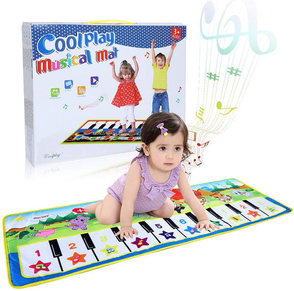 Kids Music Piano Mat Via Amazon