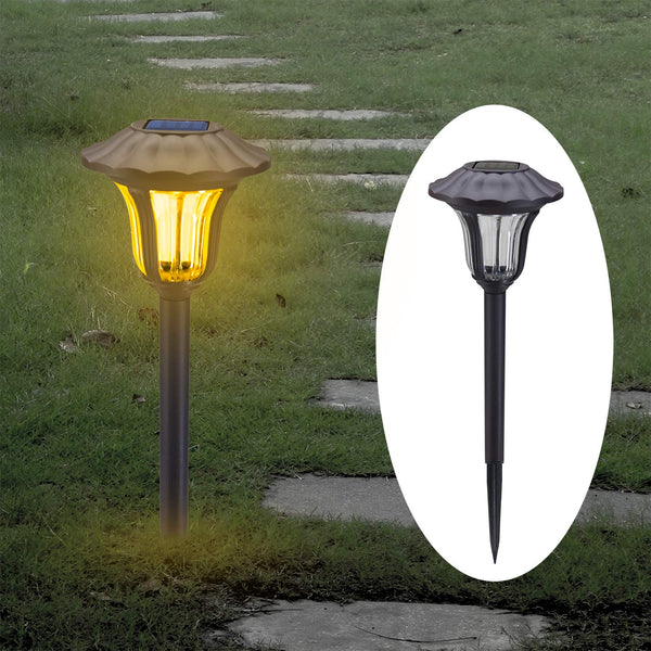8 Pack Solar Pathway Lights Via Amazon