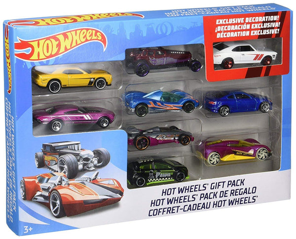 9 Pcs Hot Wheels Pack Via Amazon