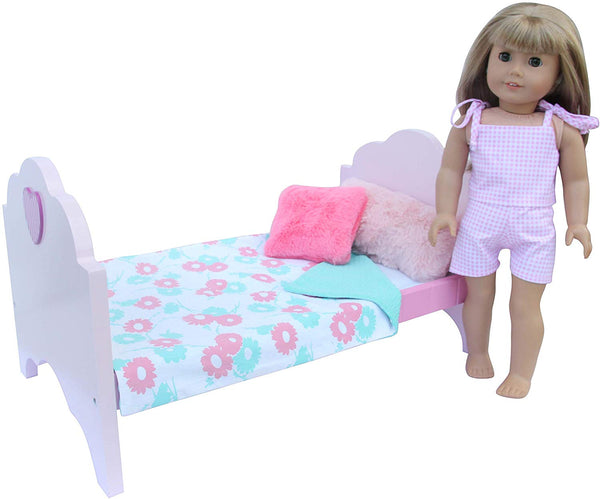 8 Pcs Set Toys Doll Bed for 18 Inch Doll Via Amazon ONLY $19.95 Shipped! (Reg $34.95)
