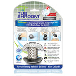 TubShroom Ultra Revolutionary Bath Tub Drain Protector Hair Catcher Via Amazon