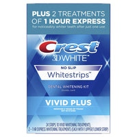 12-Treatment Crest 3D White Vivid Plus Whitestrips Kit Via Amazon