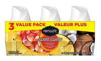 3 Count Renuzit Scent Swirls Air Freshener Gel, Plumeria, Coconut & Pineapple Via Amazon ONLY $1.69 Shipped! (Reg $2.82)