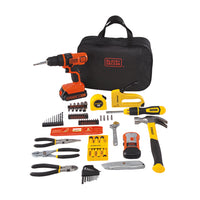 STANLEY BLACK+DECKER 20-Volt MAX 85-Piece Drill Kit Via Walmart