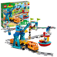 LEGO DUPLO Cargo Train 10875 Battery-Operated Building Blocks Set Via Amazon