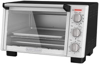 BLACK+DECKER 6-Slice Convection Countertop Toaster Oven