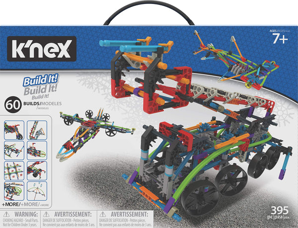 K'nex Intermediate 60 Model Building Set - 398 Parts - Via Amazon