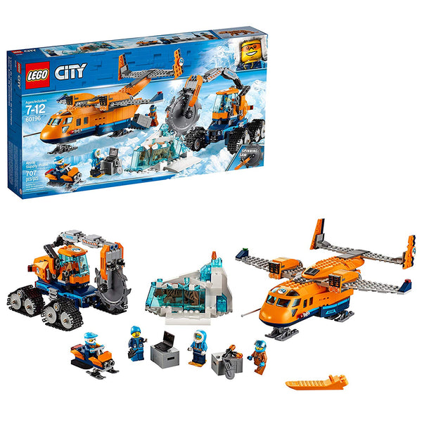 LEGO 60196 City Arctic Supply Plane Building Kit (707-Piece) Via Amazon