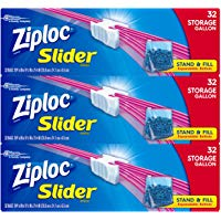 96-Count Ziploc Slider Gallon Size Storage Bags Via Amazon ONLY $9.78 Shipped! (Reg $14)