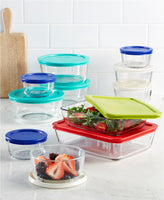 22 Piece Food Storage Container Set Via Macy's SALE $39.99 (REG $79.99)