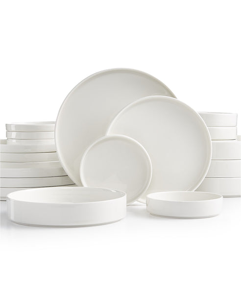 Stackable White 20-Pc. Dinnerware Set, Service for 4 Via Macy's SALE $38.99 (Reg $130)