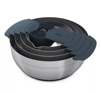 Joseph 100 Collection Nesting Steel Bowls & Measuring Cup Set Via Macy's SALE $29.93 + Free Store Pickup! (Reg $100)