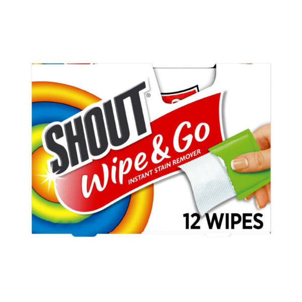 Pack Of 144 Shout Wipes Via Amazon