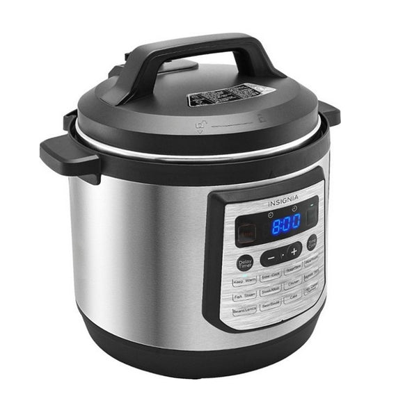 Insignia 8-Quart Multi-Function Pressure Cooker Stainless Steel Via Best Buy SALE $39.99 Shipping! (Reg $119.99)