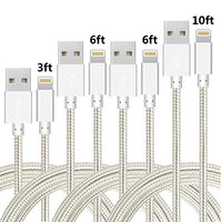 Speate Nylon Braided Lightning Cables (4-Pac) Via Amazon SALE $8.00 Shipped! (Reg $19.99)